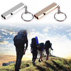 Perfect Gift For Man Or Woman For Emergency Situations. Keychain Whistle Sounds At High Decibels To Alert Others For Help. Allow 3-4 Weeks For Delivery.