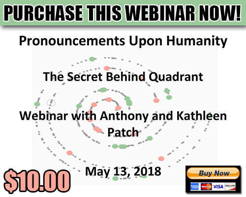 Webinar - Quadrant: Pronouncements Upon Humanity