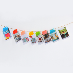 Box of Colorful Removable Plastic Divider Clips - Accessory - Stationery - Selling Social