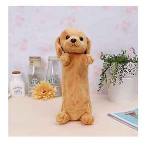 Brown Puppy Dog Pencil Case - Stationery - Selling Social