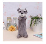 Light Grey Puppy Dog Pencil Case - Stationery - Selling Social