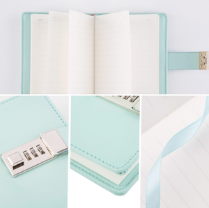 Mini Lockable Leather Journal - Stationery - Selling Social