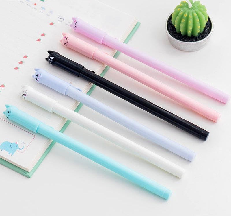 Cat Gel Pen - Stationery - Selling Social