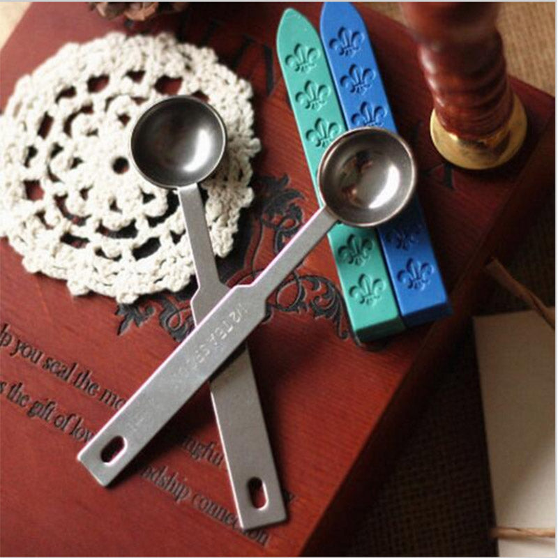 Metal Sealing Wax Spoon Accesory - Stationery - Selling Social
