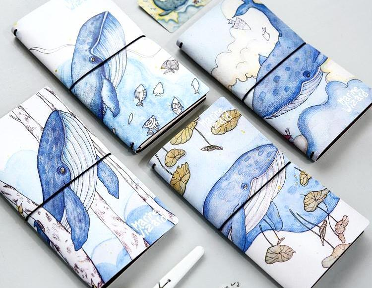 Whale Hobonichi Style Journal - Stationery - Selling Social