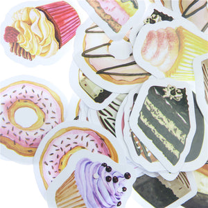 Dessert Scrapbooking Stickers - Stationery - Selling Social