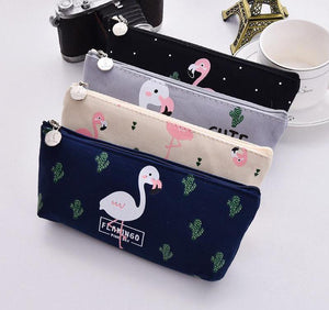 Flamingo Pencil Pouch - Stationery - Selling Social