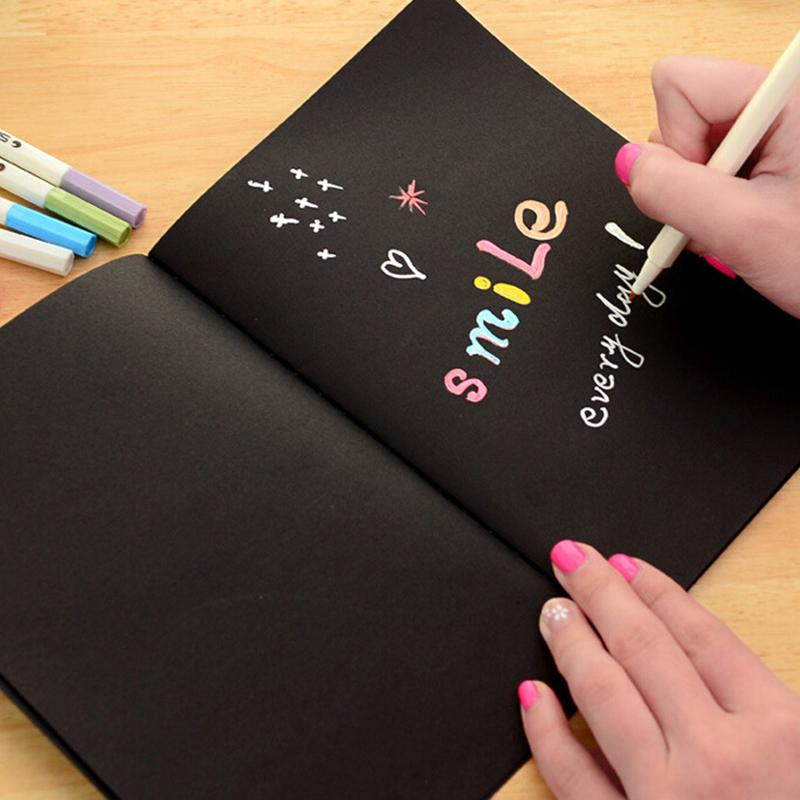 Black Paper Notebook - Stationery - Selling Social