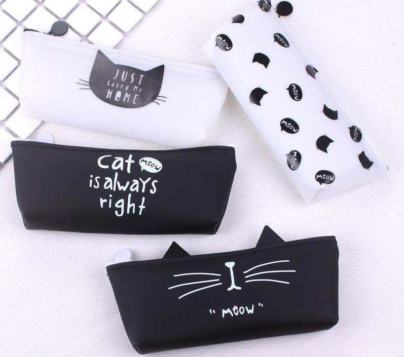 Black Cat Pencil Pouch- Bags and Pencils Pouches - Stationery - Selling