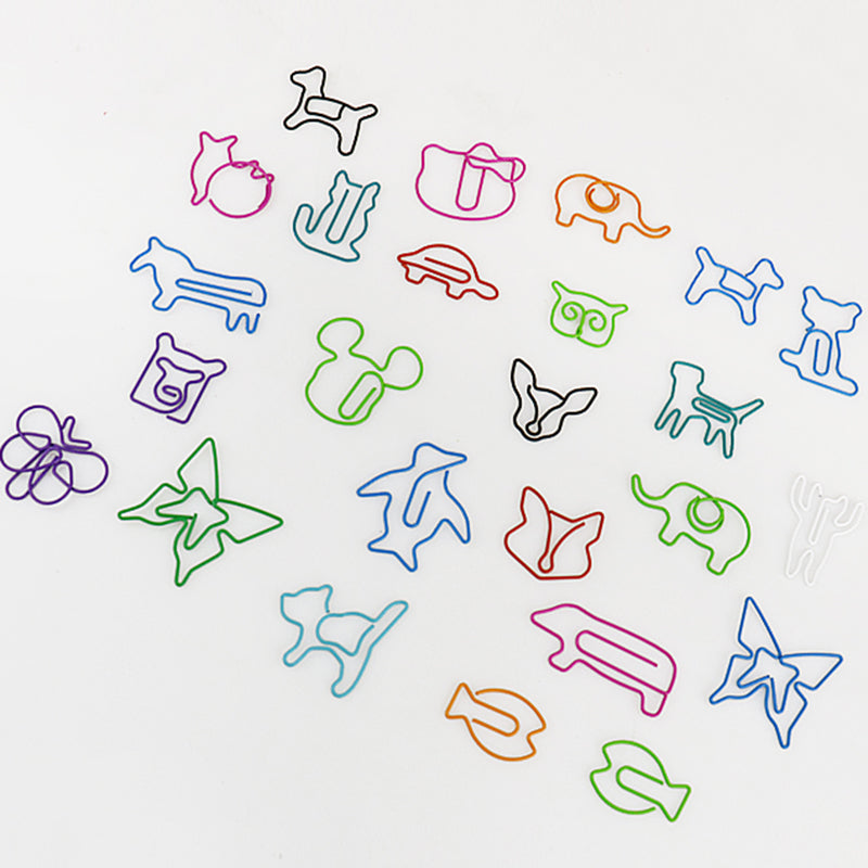 Animal Shaped Paper Clips - Stationery - Selling Social