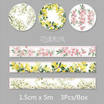 Fresh Packs of Three Variety Washi Tape- Washi Tape - Stationery - Selling Social