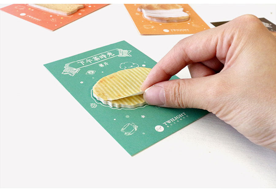 Afternoon Tea Sticky Notes - Stationery - Selling Social