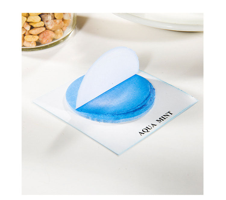 Blue Macaron Sticky Notes - Stationery - Selling Social