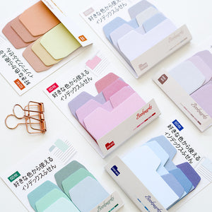 Pastel Gradient Sticky Note Tabs- Accessory - Stationery- Selling Social