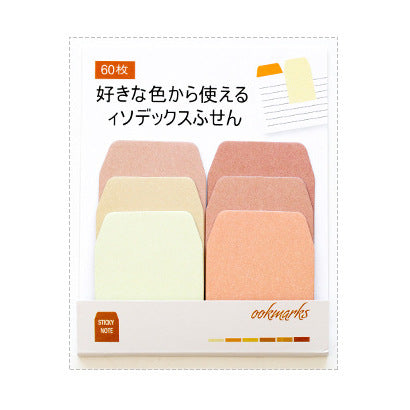 Pastel Gradient Sticky Note Tabs- Orange- Accessory - Stationery- Selling Social