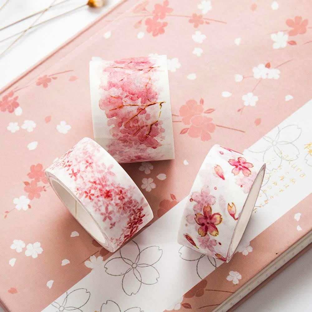 Cherry Blossom Washi Tapes - Stationery - Selling Social