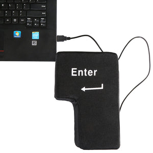 Black Antistress Enter Button - Stationery - Selling Social