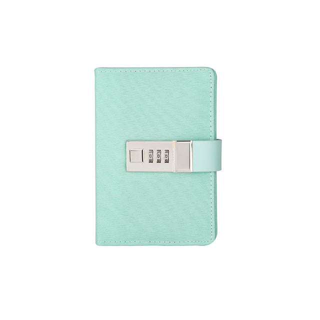 Green Mini Lockable Leather Journal - Stationery - Selling Social