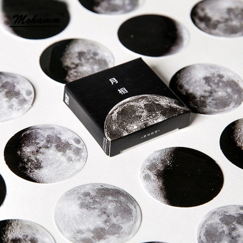 Moon Sticker - Stationery - Selling Social