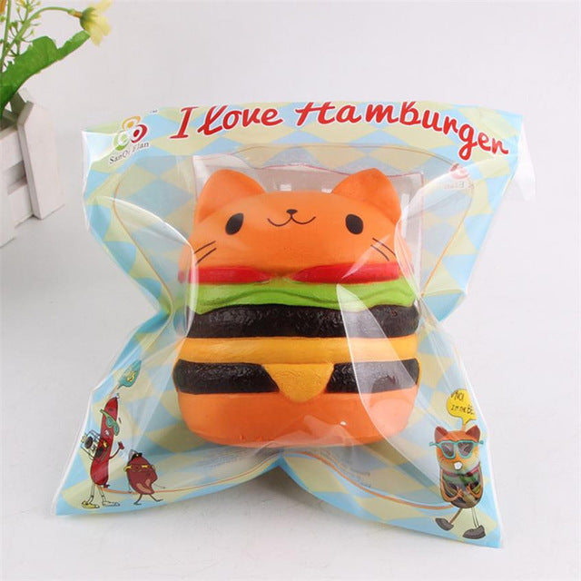 Catburger Squishy - Stationery - Selling Social