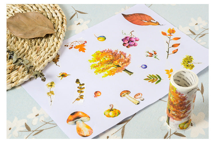 Two Sides of Nature Washi Tape - Warm - Stationery - Selling Social