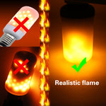 LED Realistic Fire Flame Lamp