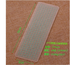 Translucent Portable Washi Sample Board -Green - Stationery - Selling Social