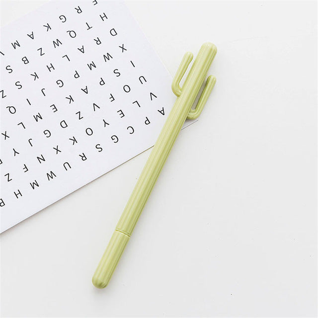 Cactus Gel Pens - Stationery - Selling Social