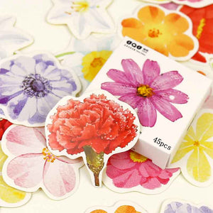 Floral Stickers - Stationery - Selling Social