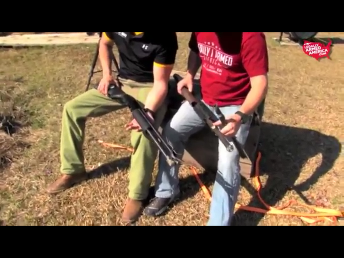 Video: Make sure you have no mud in the barrel - be safe and check the video