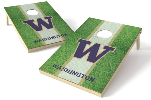 Washington Huskies 2x3 Cornhole Board Set - Field
