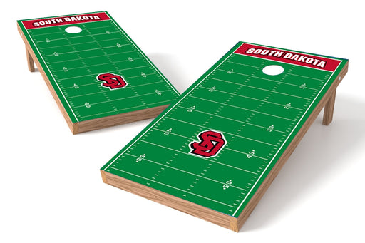 South Dakota 2x4 Cornhole Board Set - Field