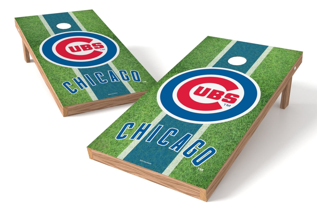 Chicago Cubs 2x4 Cornhole Board Set - Field