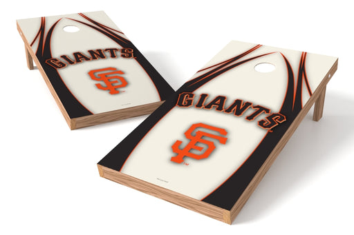 San Francisco Giants 2x4 Cornhole Board Set - Edge