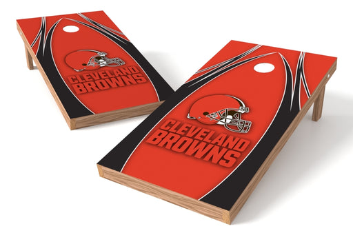 Cleveland Browns 2x4 Cornhole Board Set - Edge