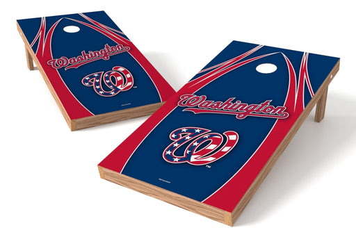 Washington Nationals 2x4 Cornhole Board Set - Edge
