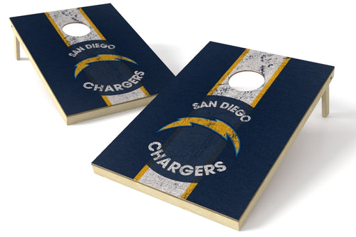 Los Angeles Chargers 2x3 Cornhole Board Set - Heritage