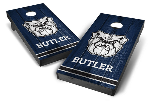 Butler Bulldogs 2x4 Cornhole Board Set Onyx Stained - Vintage