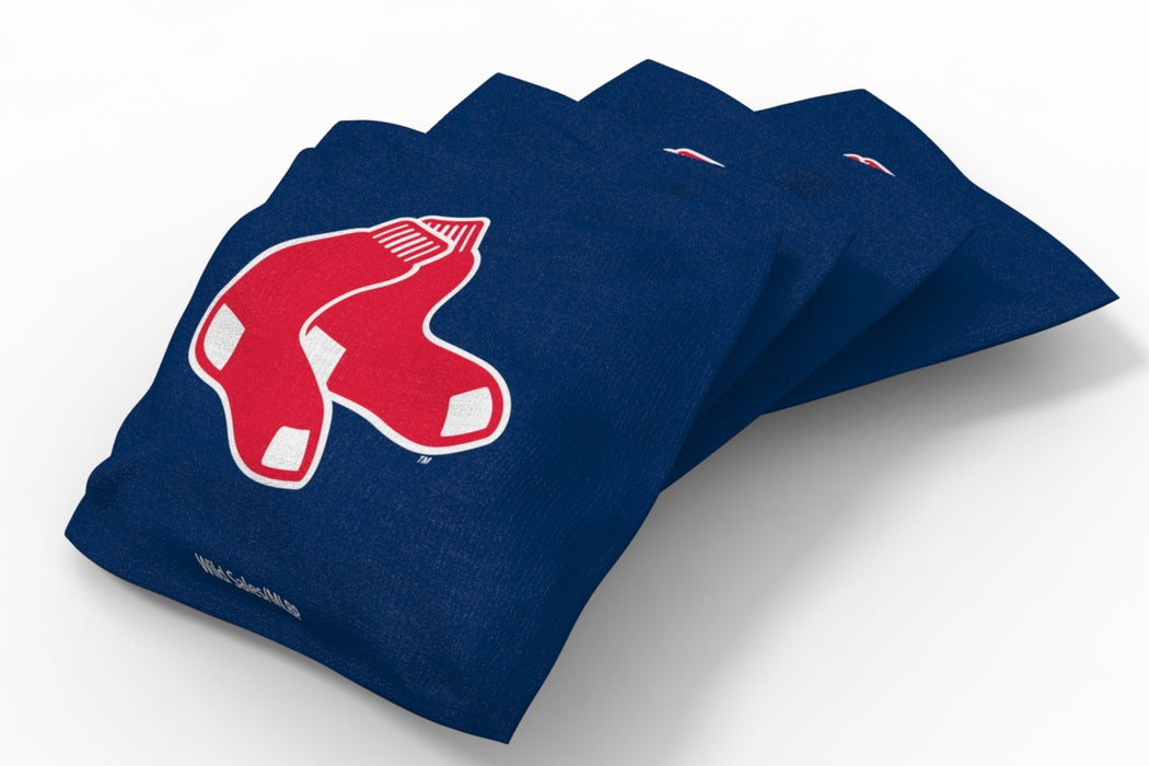 Boston Red Sox 2x4 Cornhole Board Set - Edge