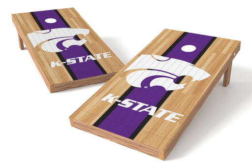 Kansas State Wildcats 2x4 Cornhole Board Set - Wood