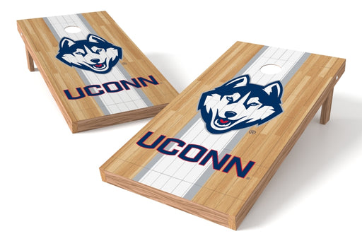 Connecticut Huskies 2x4 Cornhole Board Set - Wood