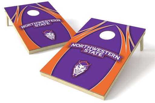 Northwestern State 2x3 Cornhole Board Set