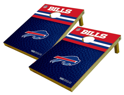 Buffalo Bills 2x3 Cornhole Board Set - Pigskin