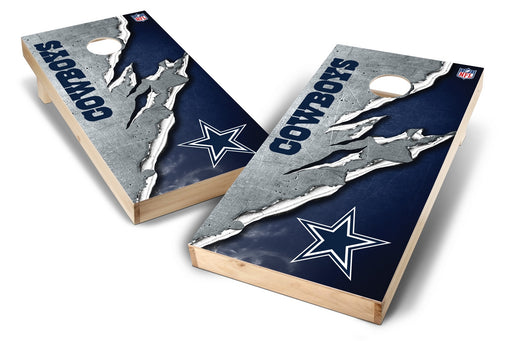 Dallas Cowboys 2x4 Cornhole Board Set - Ripped