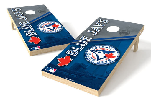 Toronto Blue Jays 2x4 Cornhole Board Set - Logo