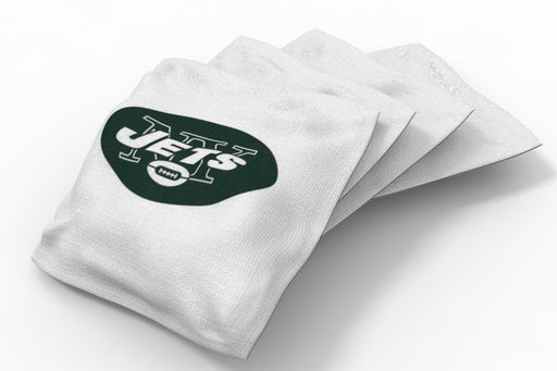 New York Jets Solid Bean Bags - 4pk