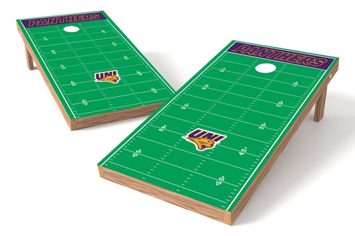 Northern Iowa 2x4 Cornhole Board Set - Field