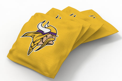 Minnesota Vikings  Solid Bean Bags - 4pk