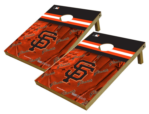 San Francisco Giants 2x3 Cornhole Board Set - Glove