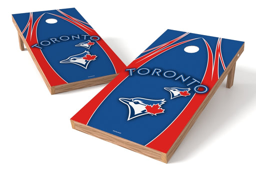 Toronto Blue Jay 2x4 Cornhole Board Set - Edge